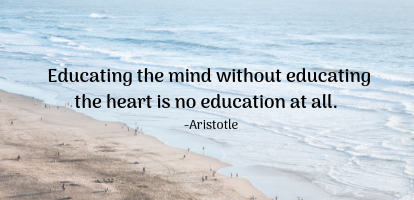 Aristotle Quote | HeartFirst Education
