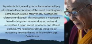Dalai Lama Quote   HeartFirst Education