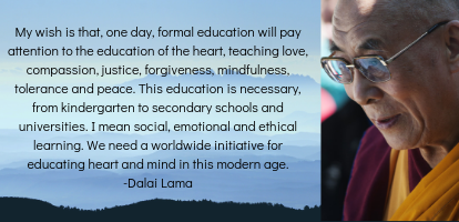 Dalai Lama Quote | HeartFirst Education